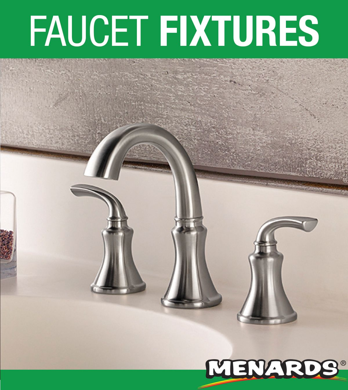 The Clean And Sleek Pfister Solita Widespread Bathroom Faucet In A Brushed Nickel Widespread Bathroom Faucet Bathroom Faucets Brushed Nickel Faucet