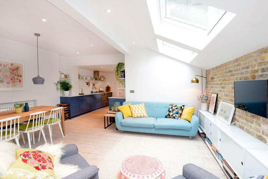 Stroud Green N5 London Side Return Extension Kitchen Extension