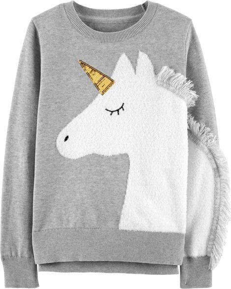 e0543da34 Unicorn Sweater in 2019