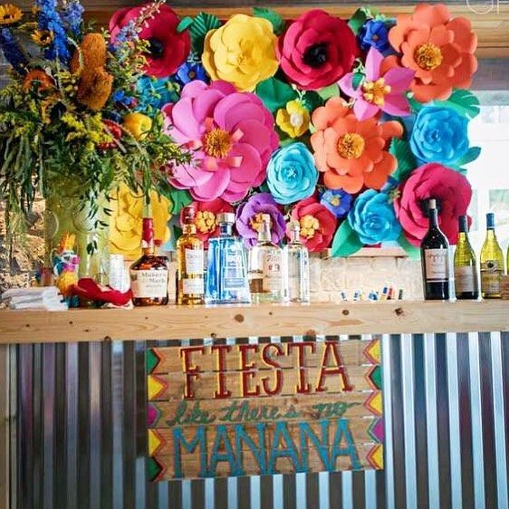 Party backdrop others pinterest fiesta mexicana Decoraciones para ninas
