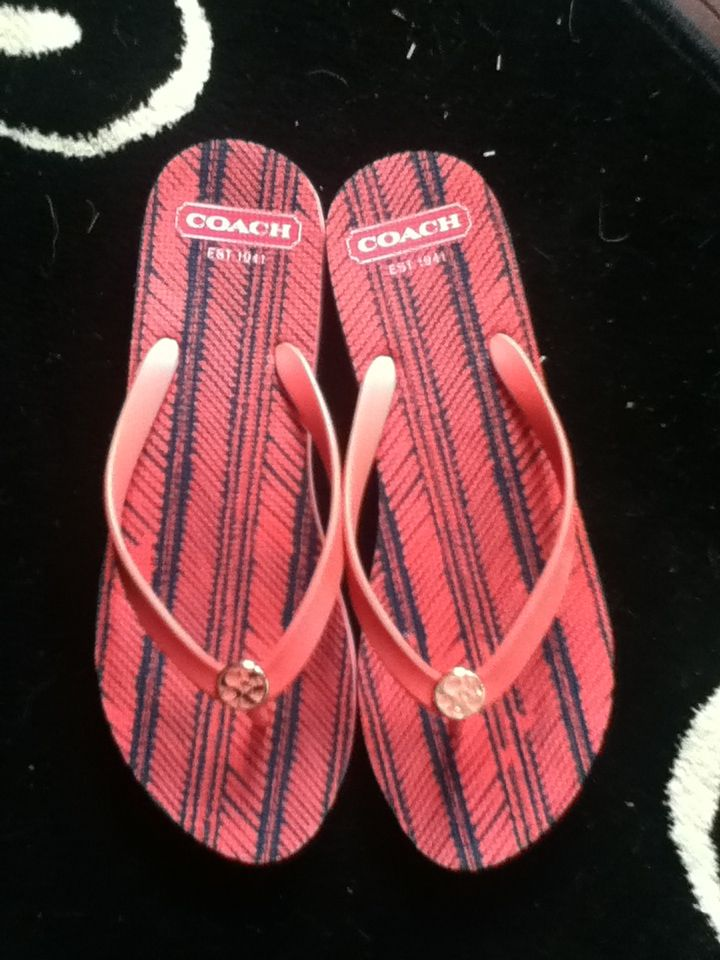 0f1651aea Coach flip flops  30 at TJ Maxx