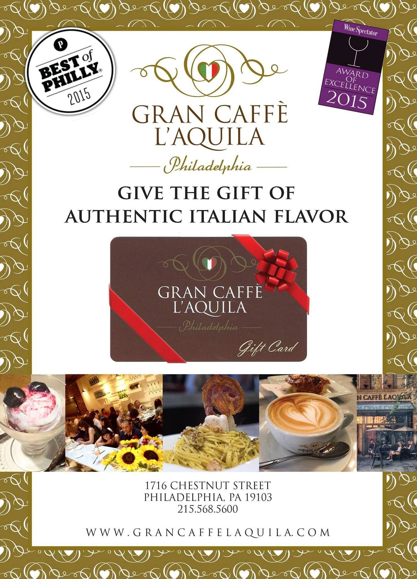 Its fridayitaliano at grancaffelaquila give the gift