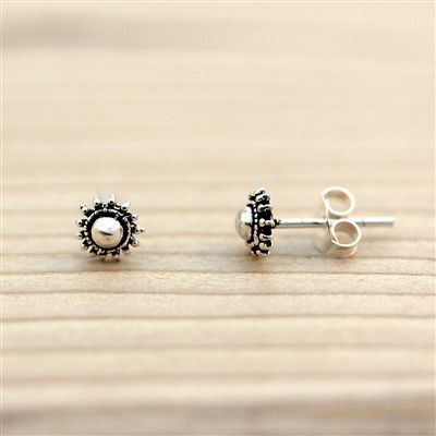 Details - Earring Height: 5 mm - 925 Sterling Silver