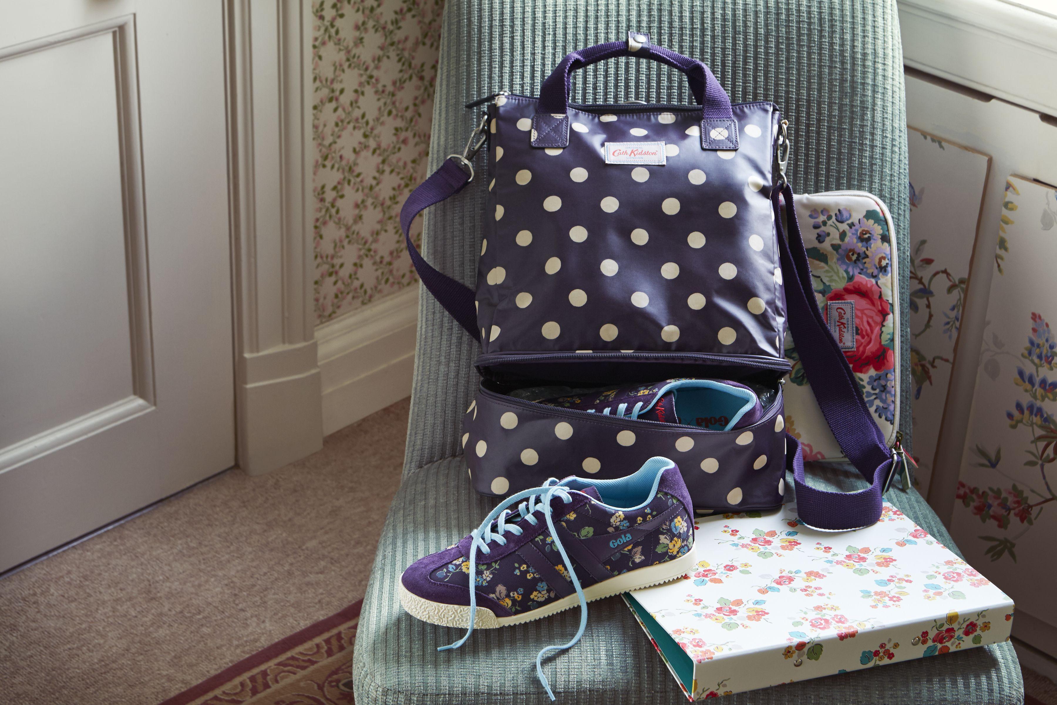 1e064e3e348 Button Spot Grape Double Decker Backpack   Cath Kidston AW15 ...