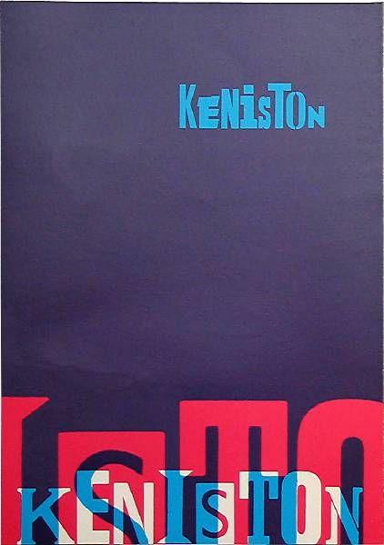 ken garland & associates:graphic design:keniston housing association