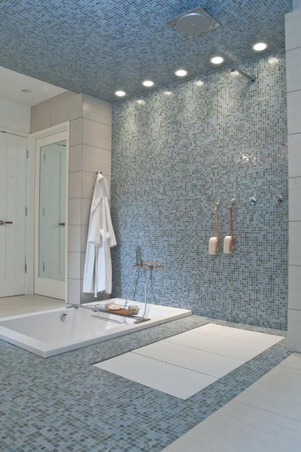Curbless ShowerLACAVA  Ceramic  Stone Tile