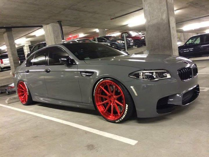 Red wheels #bmw #bimmer #low http://buff.ly/2aSraHV