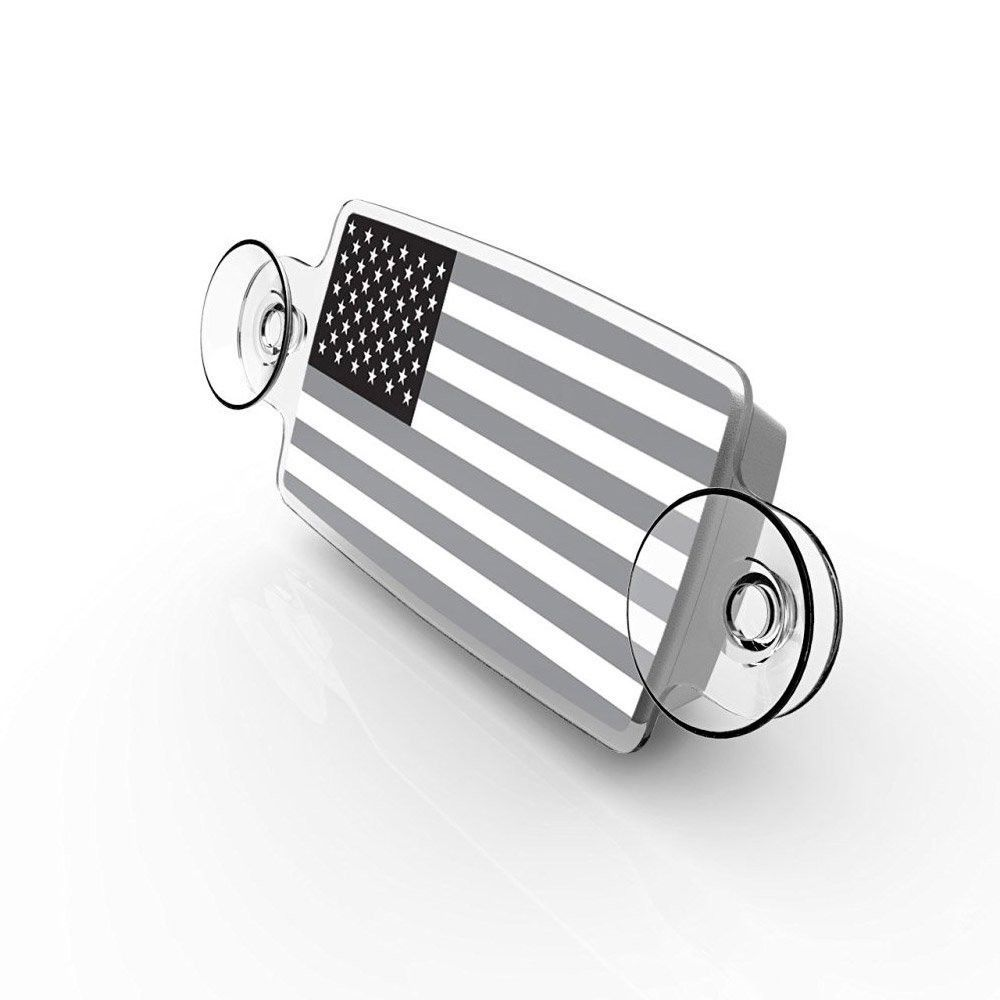Small Toll Pass / EZ Pass / Transponder Holder - US Flag