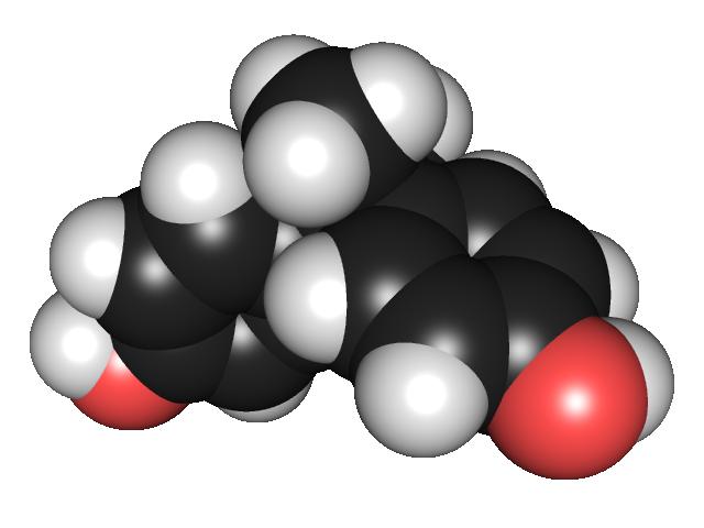 #Molécula de #Bisfenol A