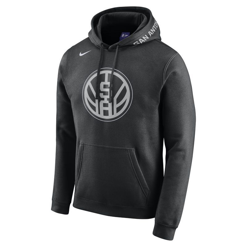 San Antonio Spurs City Edition Nike Men S Nba Hoodie Black Hoodies Nike Men Black Nikes