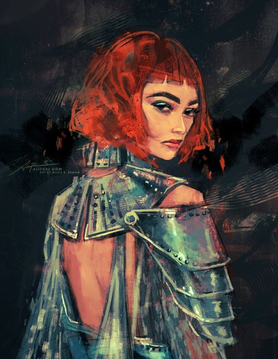Zendaya at Met Gala as Joan of arc 2018 fan art Art, Art