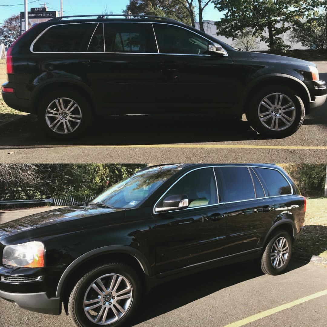 Check Out This Volvo Xc90 With Our Speed Of Sound Window Treatments Perfect Match To The Oem Privacy Glass Need Tint Speed Volvo Xc90 Milford Tinted Windows
