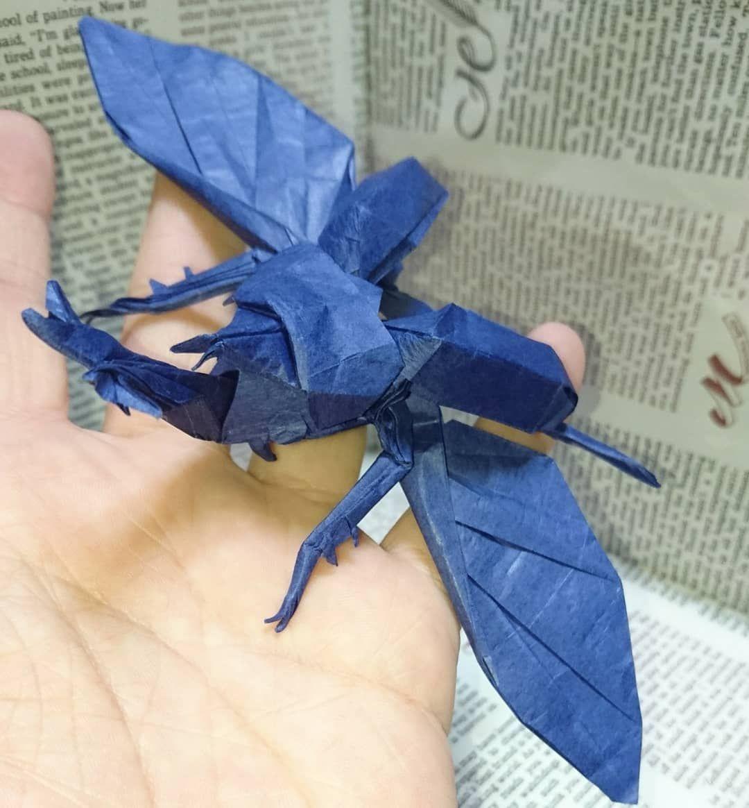 オオカブト 折り紙 ヘラクレス