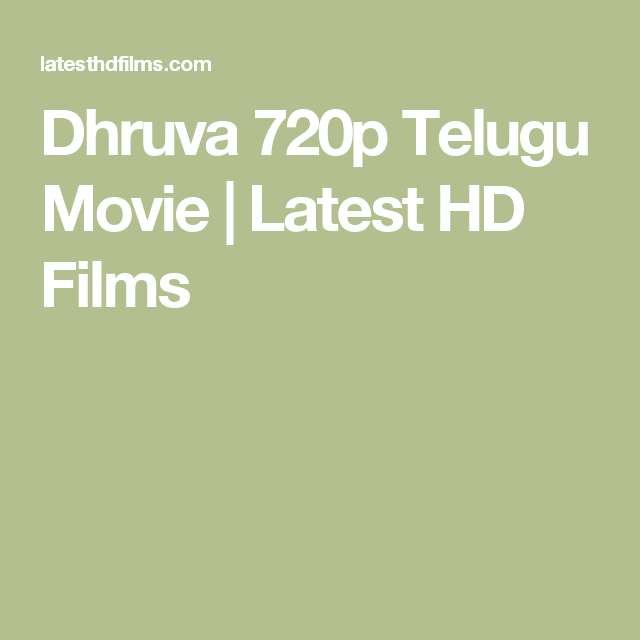 dhruva telugu full movie 720p download free