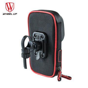 ebca03afc76 WHEEL UP Rainproof Bike Handlebar Touchscreen Phone Bag Case Cell Phone  Holder MTB Frame Pouch Bag