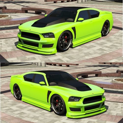 Best Cars To Customize In GTA 5 Online Bravado Buffalo S Green Tuning Krromx Refacciones