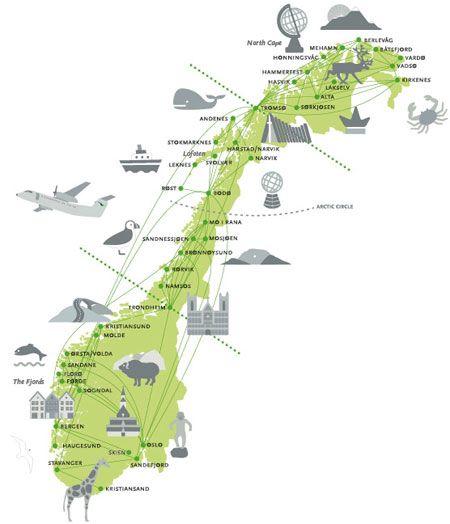 norge rundt kart Norge rundt | My Norwegian Heritage that I Love | Pinterest  norge rundt kart