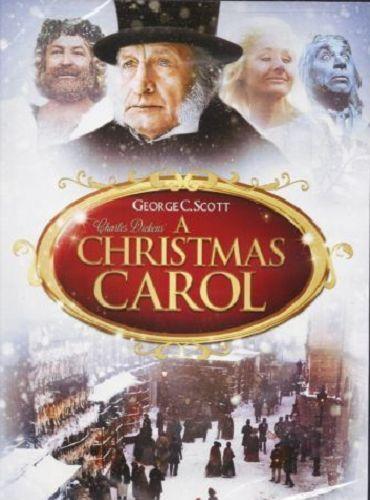 A Christmas Carol DVD 2014 FS George C Scott Warner FREE SHIPPING & TRACKING US