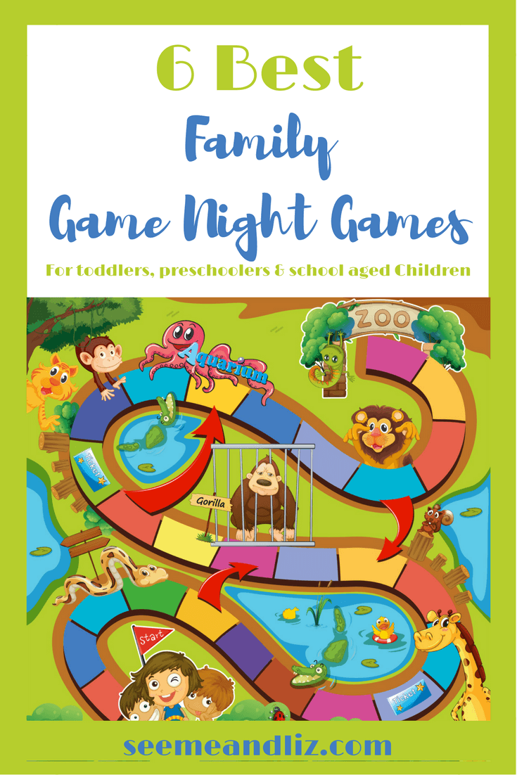 6 Best Family Game Night Games For Toddlers, Preschoolers