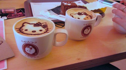 Photo of Hello Kitty Coffee for fans of Coffee.