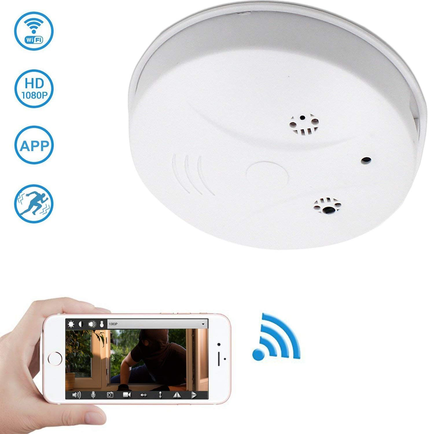 Concealed behind the guise of a smoke alarm, the Zarsson Hidden