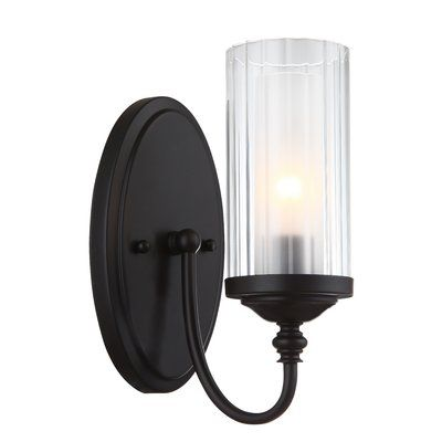 Alcott Hill Neiman 1 Light Wall Sconce Base Finish Oil Rubbed