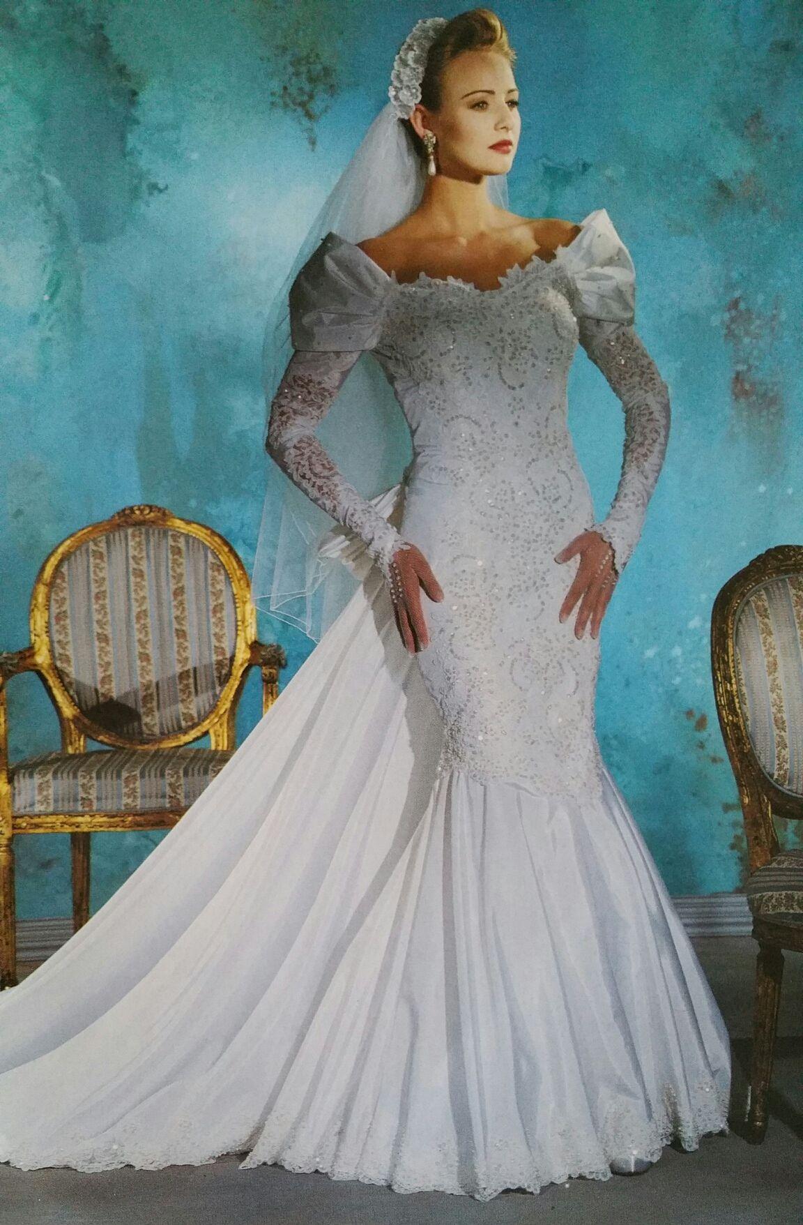 Demetrios a mermaid dress years ago retro brides