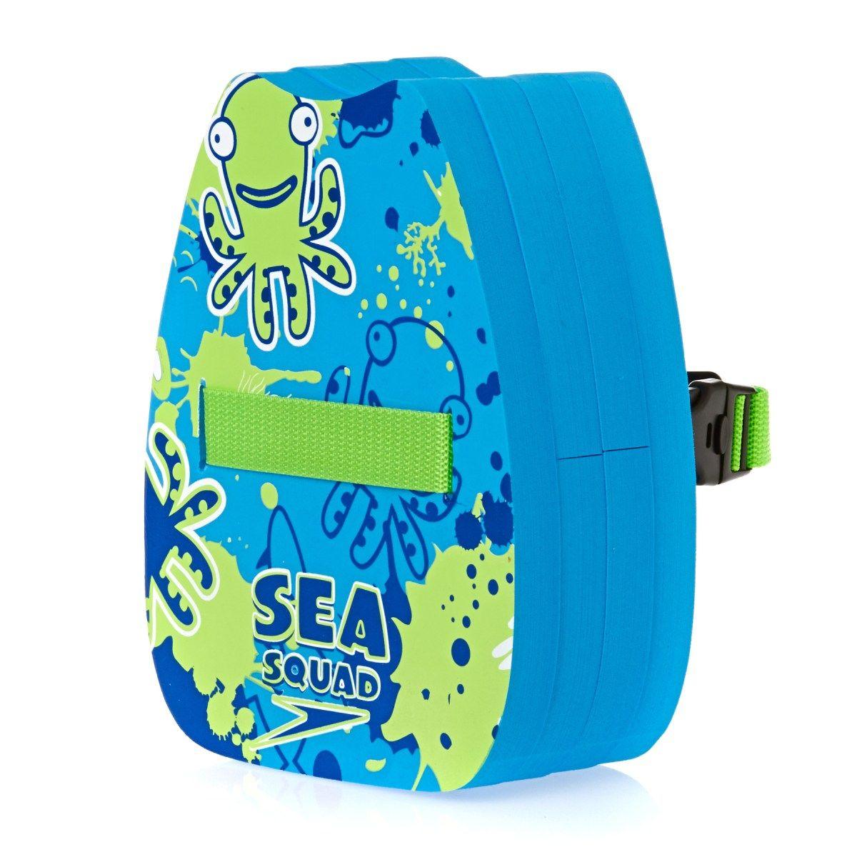Boy s Speedo Swimming Floats - Speedo Sea Squad Back Float - Japan  Blue hydro Green ba6cb6562a39