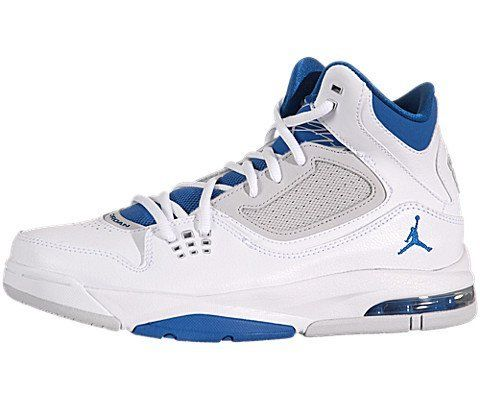 822c6abf1d778b Air Jordan Flight 23 RST (Kids) - White   Military Blue-Neutral Grey ...