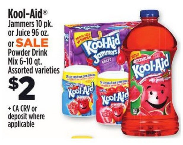 Kool Aid Drink Canisters Just 1 At Dollar General Kool Aid Drinks In Case Of Emergency