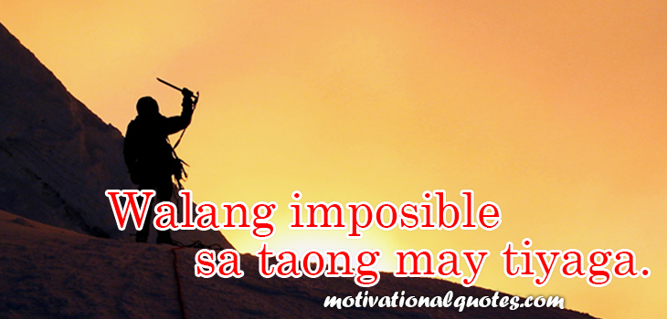 Tagalog Motivational And Inspirational Quotes Ofw Quotes Tagalog