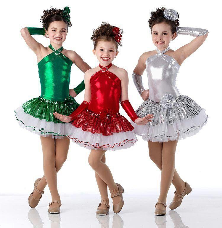 Resultado de imagen para trajes de ballet navide os - Disfraces navidenos para ninas ...