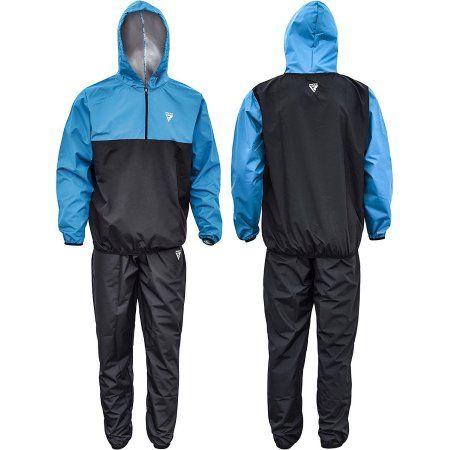 RDX MMA Sauna Sweat Suit Running Non Rip Track Weight Loss Slimmimg