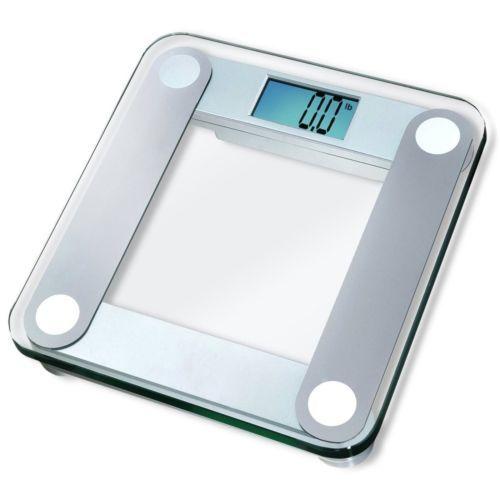 EatSmartPrecisionDigitalBathroomScalewExtraLargeBacklit - Large display digital bathroom scales