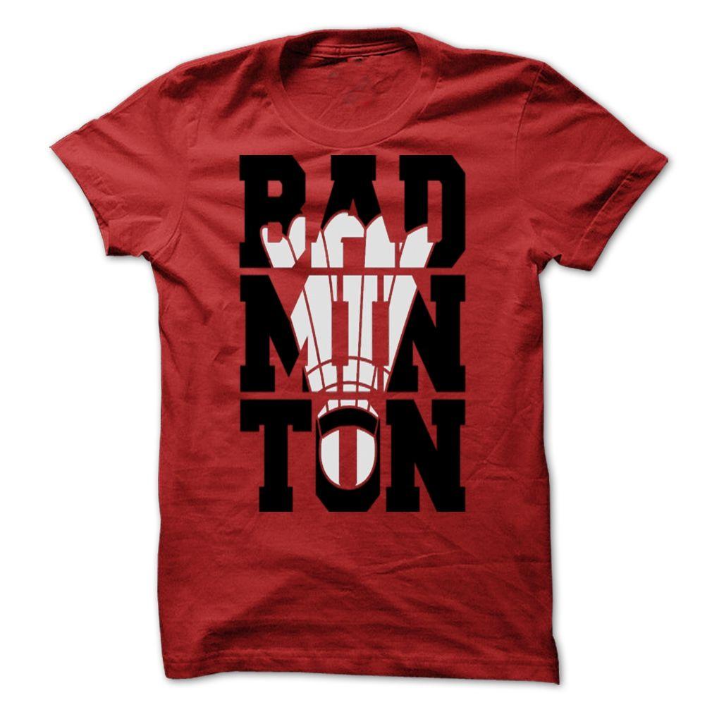 281818a7 Awesome Badminton T-Shirt | Badminton/Baddy | Badminton shirt ...