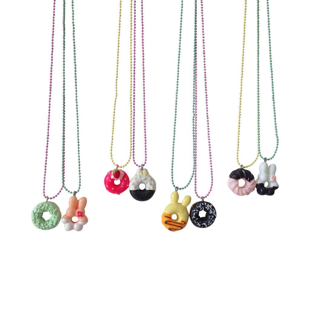 Ltd pop cutie bff doughnut necklaces kids accessories pinterest