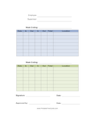Printable Time Card Template Free Printable Time Cards Over 28 Free Timecard Templates That You .