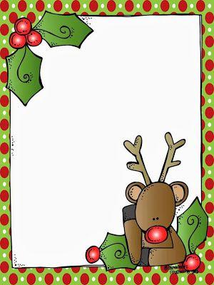 Santa letter borders doritrcatodos santa letter borders spiritdancerdesigns Choice Image