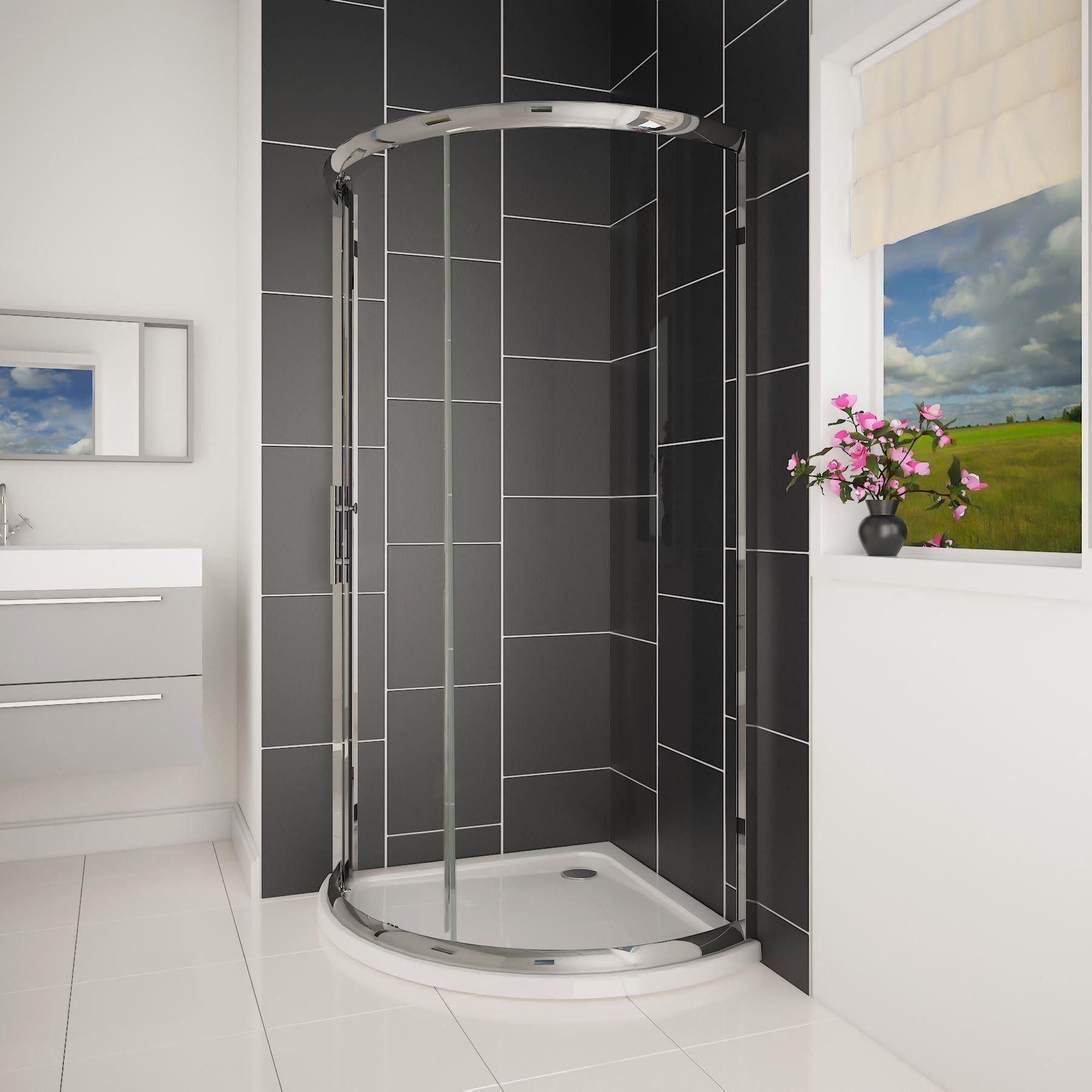 Bow 6mm Single Door Quadrant Enclosure 760 x 760mm | Bathroom ...