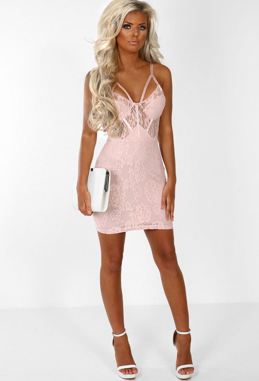 5d0750767d537 All That Glamour Pink Lace Bodycon Mini Dress in 2018 | FORMAL ...