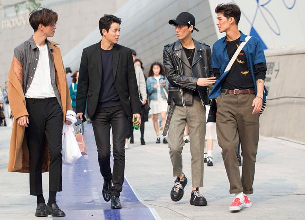 Gangnam Style How To Dress Like A Korean Seoul Fashion Week Korean Fashion Men Seoul Fashion