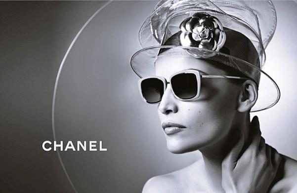 b146ad268 Laetitia Casta presenta la nueva Colección Gafas de Sol y Graduadas Chanel