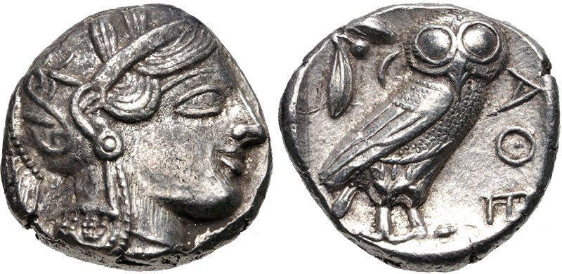 ATTICA Athens. Circa 454-404 BC. AR Tetradrachm (23mm 17.18 g 2h).OWL https://t.co/aWQjsi4f9q https://t.co/aWQjsi4f9q