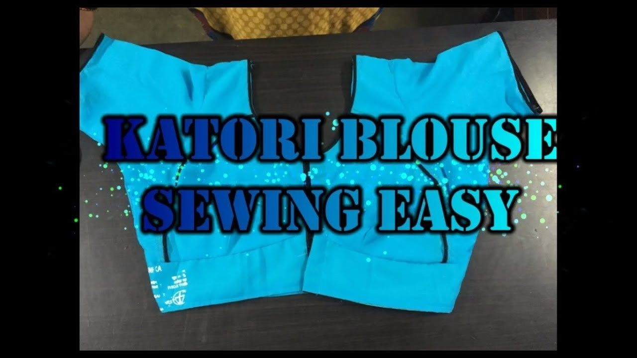 Diy Katori Blouse Sewing Easy Method 2017 In Tamil Easy And Crafts