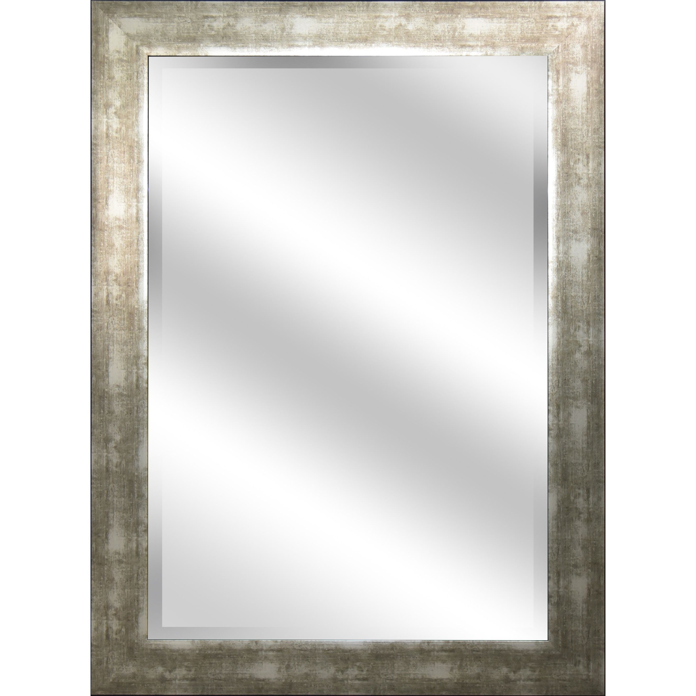 Y-Decor \'reflection\' 31 x 43 x 1-inch Mirror with Champagne (Beige ...