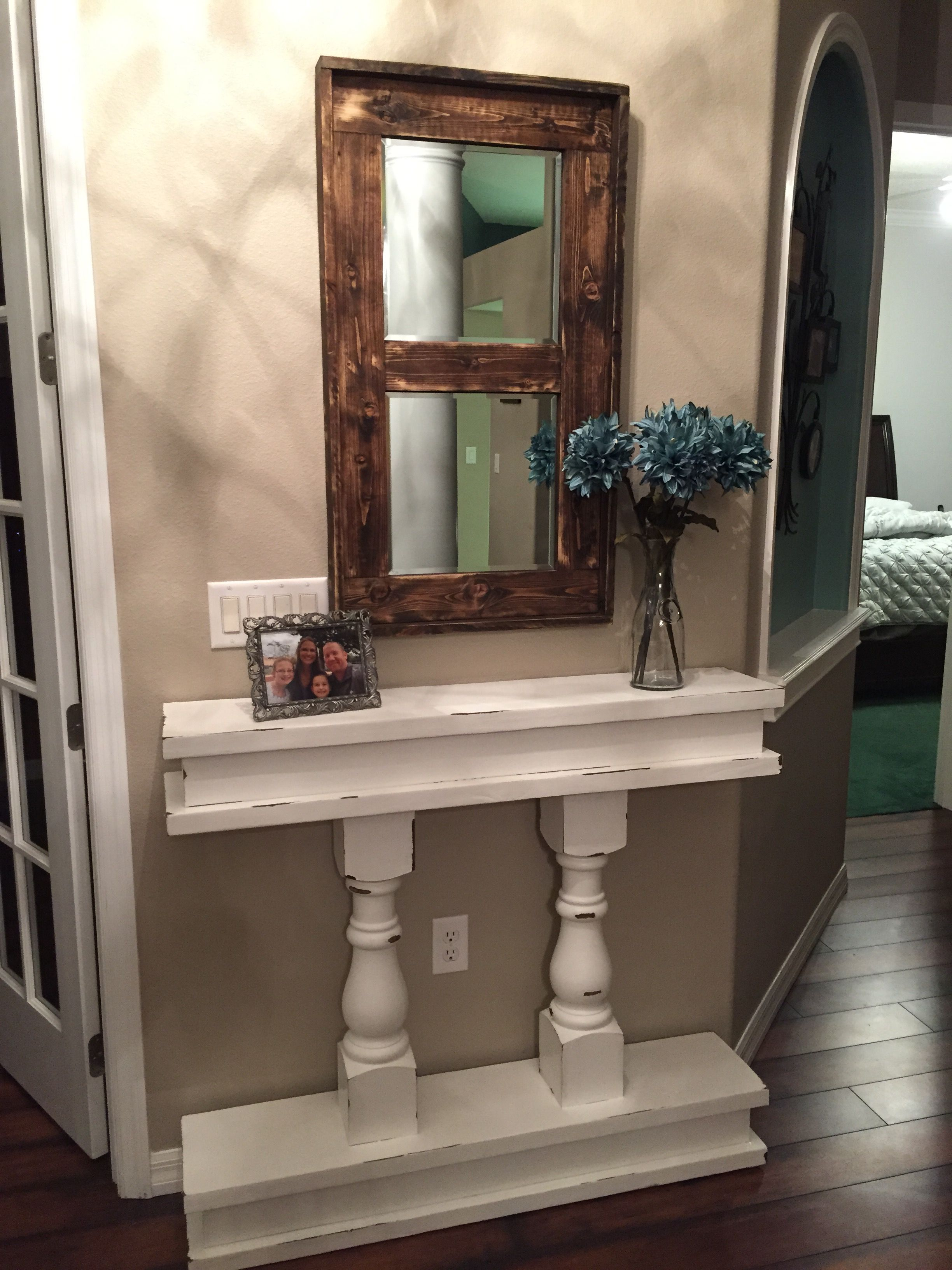 Entry way table shanty 2 chic table shanty 2 chic