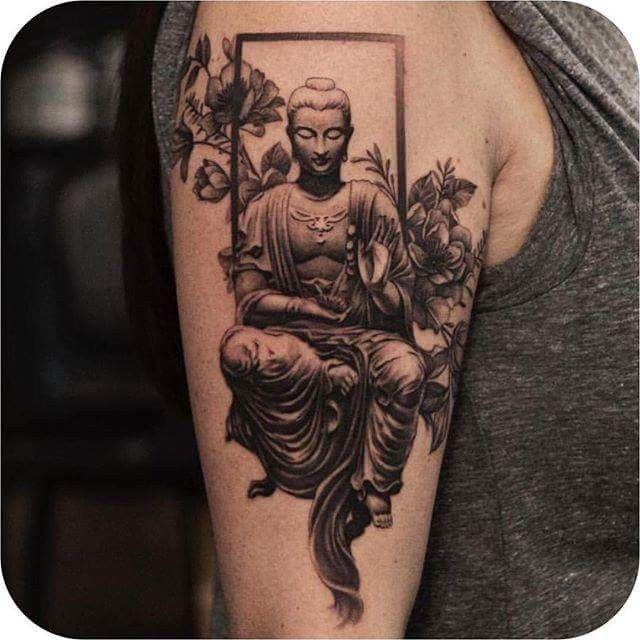 Asian Buddha Tattoos