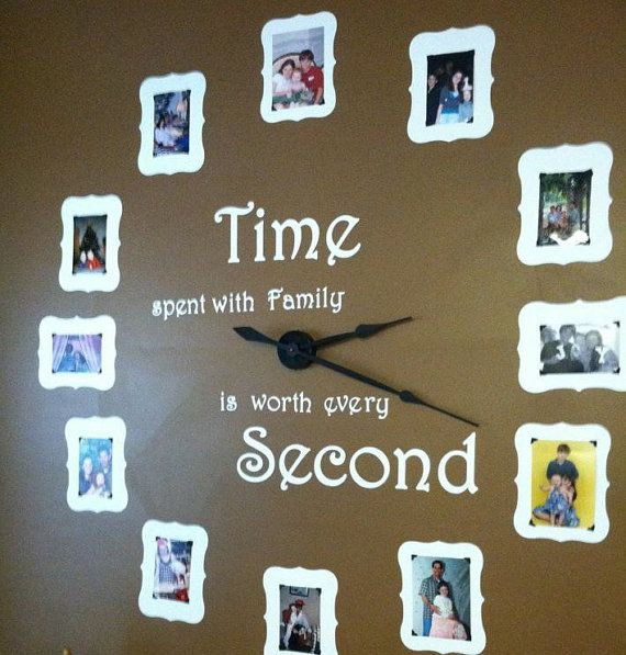 Photo Wall Clock special listing for melissa flores | wall clock kits, clocks and