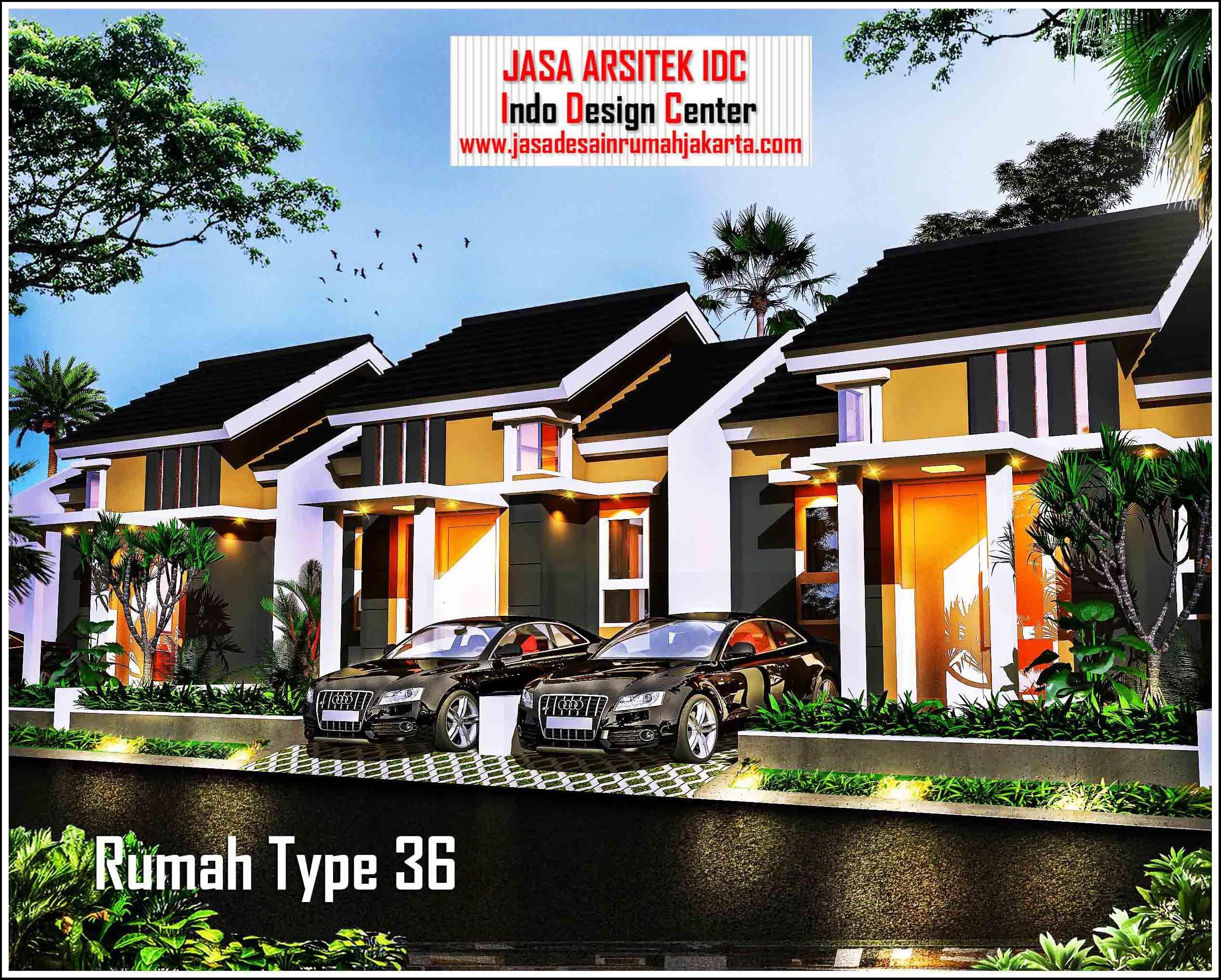 Jasa Gambar Rumah Minimalis Type 36 Part 3 Of 3 Denah Rumah Type