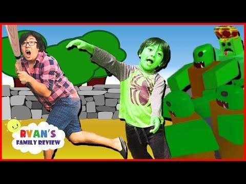 Ryan Plays Zombie Attack On Roblox Gaming Night With Ryan S Family - ryan plays zombie attack on roblox gaming night with ryan s family review youtube